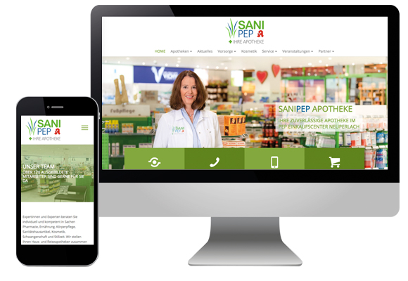 WordPress Webseite - Unternehmenswebseite