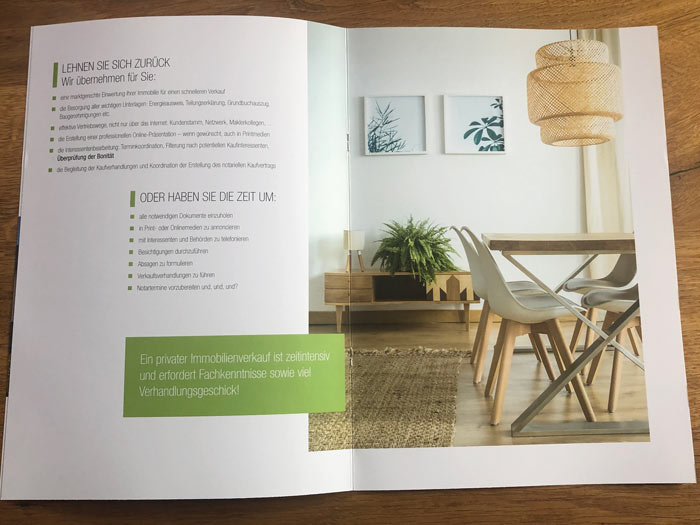 Firmenbroschüre Printdesign München