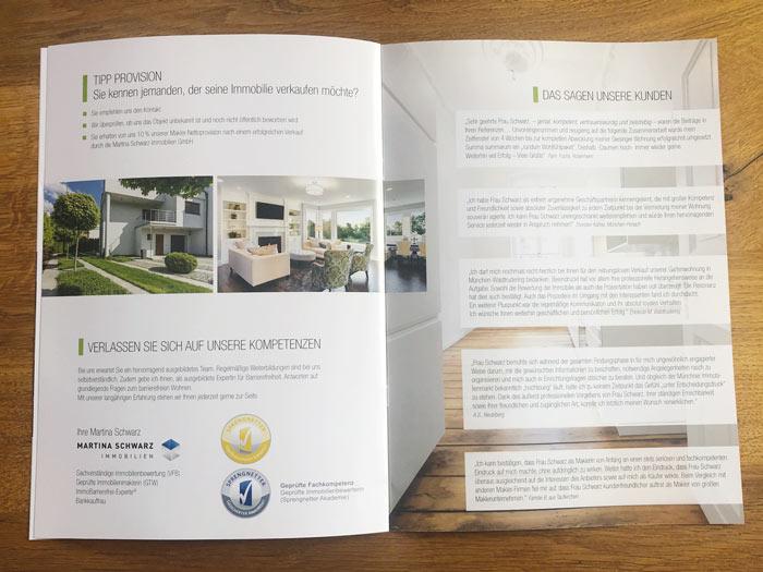 Printdesign Company Profile - Broschüre München