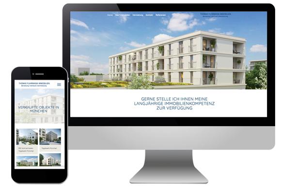 Immobilienwebseite München